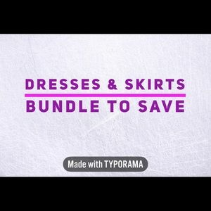 Dresses & Skirts - Save 10% on dress bundles!